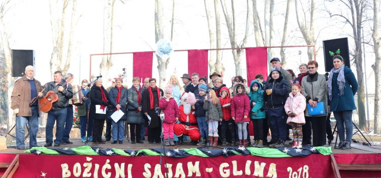 Održan Božićni sajam u Glini