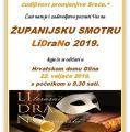 Županijska smotra LiDraNo 2019