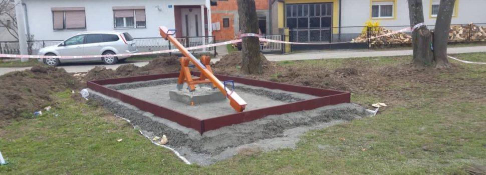 Krenuli radovi na izgradnji novog dječjeg igrališta na Cvjetnom trgu u vrijednosti od 227.514,50 kn