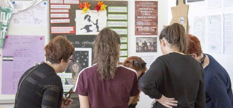 Održana radionica u Srednjoj školi Glina o važnosti odgovornog postupanja s otpadom