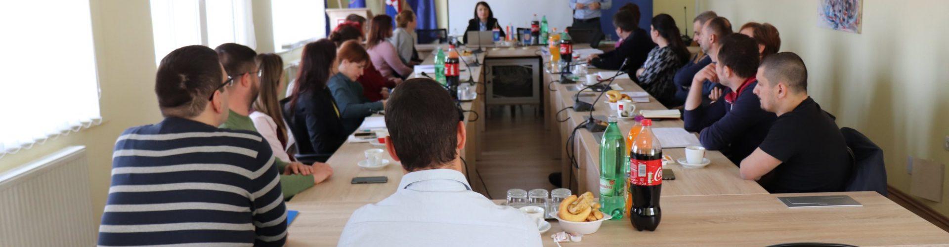 Održan sastanak Partnerstva za izradu Strateškog plana razvoja gospodarskog sektora Grad Gline – područje informatike