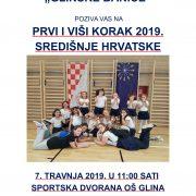 Regionalno natjecanje mažoretkinja Prvi i viši korak 2019. za Središnju Hrvatsku