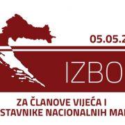 Rješenje o određivanju biračkih mjesta na području Grada Gline za izbor članova vijeća srpske nacionalne manjine