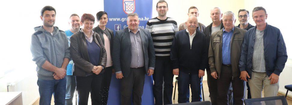 Potpisani ugovori o korištenju sredstava Grada Gline s udrugama civilnog društva