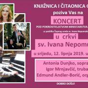 Koncert u crkvi sv. Ivana Nepomuka