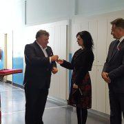 Dan Osnovne škole Glina (primpredaja školskih ormarića i završetak energetske obnove)