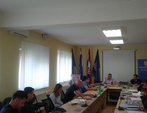 Uvođenje izvođača u posao vezano za projekt Izgradnje reciklažnog dvorišta u Gradu Glini