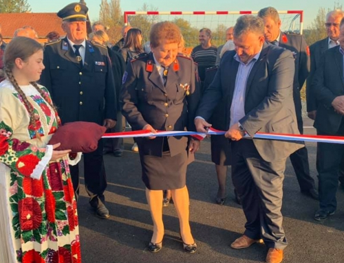 Novo vatrogasno vježbalište u Bučici