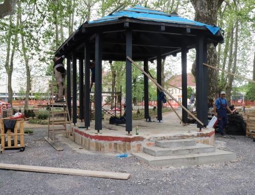 Radovi u parku se privode kraju!