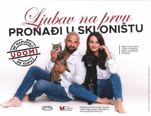 Ingrid i Luka: Ljubav na prvu pronađi u skloništu!