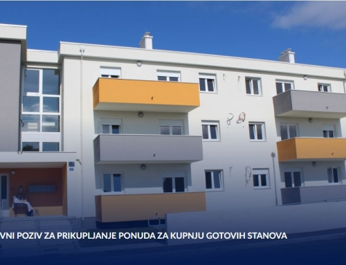 JAVNI POZIV za prikupljanje ponuda za kupnju gotovih stanova