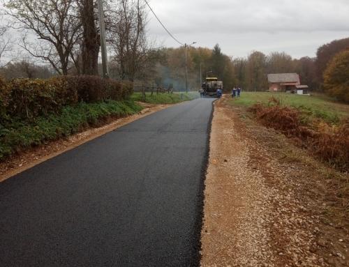 Izvođenje radova na održavanju dijela nerazvrstane ceste NC10 Baltić brdo – Balinac u naselju Balinac na području Grada Gline