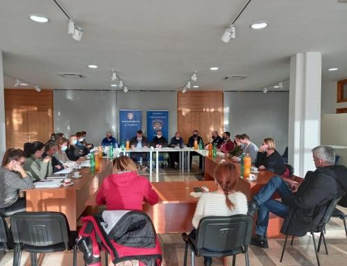 Održan je koordinacijski sastanak Nacionalnog stožera RH i Stožera civilne zaštite Grada Gline.